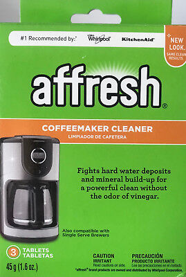 affresh Coffeemaker Cleaner for Water Deposits & Mineral Build-Up - 3-Tablets