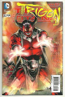 Teen Titans (2011) #23.1 First Print 3-D Lenticular Trigon Wolfman Near Mint