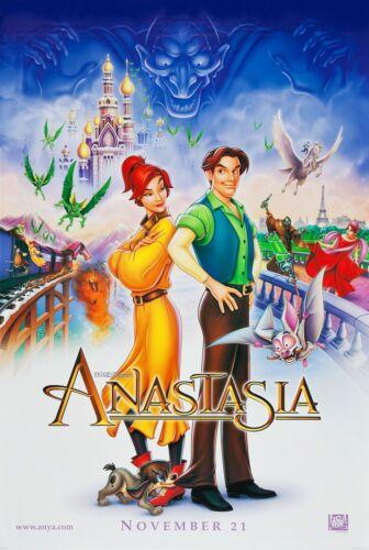 ANASTASIA (1997) ORIGINAL ADVANCE VERSION B MOVIE POSTER  -  ROLLED