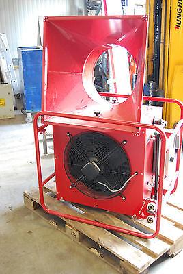 Mobiler Lufterhitzer 45 KW Hallenheizung Luftheizung Heizregister Heizgebläse