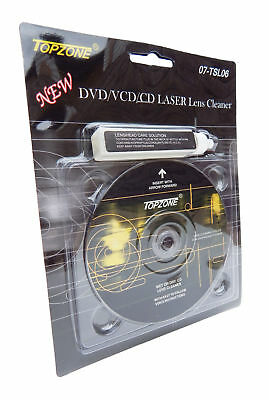 CD DVD CD-ROM Laser Lens Cleaner Compact Disc Dry/Wet Laser Lens Cleaning Kit