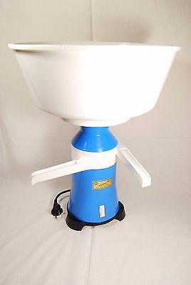 Milk Cream Electric Centrifugal Separator Plastic 100lh For Export New