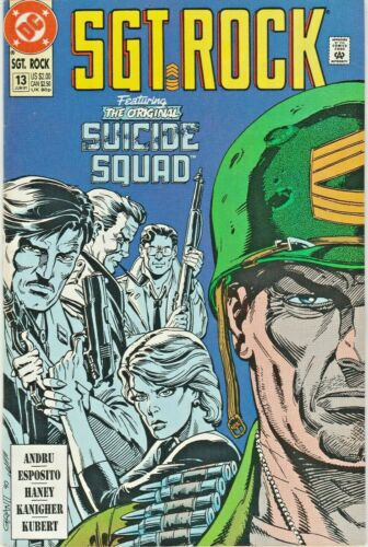 SGT. ROCK SPECIAL #13  WAR THAT TIME FORGOT  GIANT-SIZE  DC  1991  NICE!!!