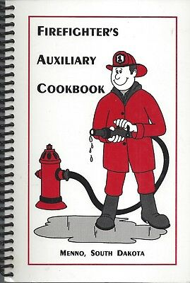 MENNO SD 2000 FIREFIGHTERS AUXILIARY COOK BOOK * SOUTH DAKOTA COMMUNITY RECIPES