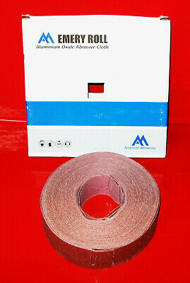 Metal Workers Emery Cloth Abrasive Rolls Assorted Boxed Polishing Pumped Soft US
