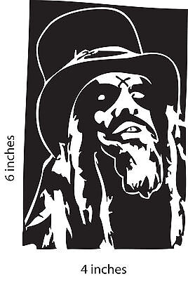 2 ROB ZOMBIE Stickers Cut Vinyl Decal White Zombie Robert Cummings Straker