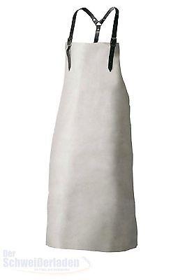 Schweißerschürze Rind Spaltleder 80 x 100  cm + Lederriehmen, Latzschürze