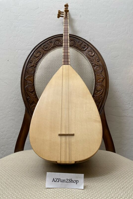 TURKISH SHORT NECK BAGLAMA SAZ | Baglama String Musical Instrument