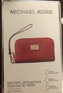 VERY GOOD CONDITION RED MICHAEL KORS WRISTLET!!