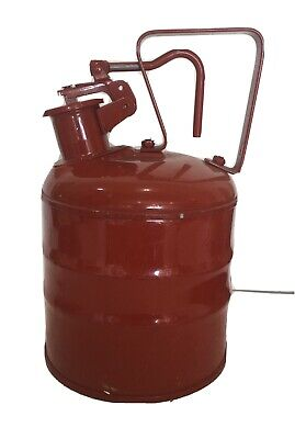 Justrite 1 Gallon Safety Can Used