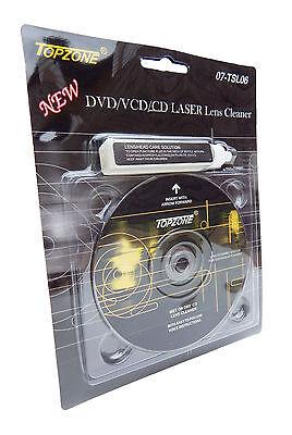 Cd Dvd Cd Rom Laser Lens Cleaner Compact Disc Dry Wet Laser Lens Cleaning Kit