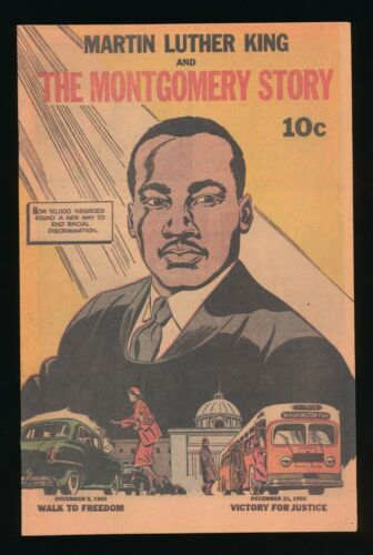 MARTIN LUTHER KING THE MONTGOMERY STORY #NN TOP SHELF PRODUCTIONS 2014 REPRINT