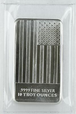 SKU #169456 9Fine Mint 10 oz Silver Bar