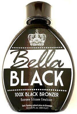 bella black 100x black bronzer extreme silicone