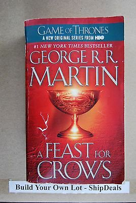 George R R  Martin A Song Of Ice And Fire  4 A Feast For Crows Game Of Throne L2