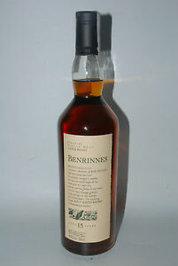 WHISKY-BENRINNES-FLORA-amp-FAUNA-SINGLE-HIGHLAND-MALT-15-YEARS-OLD-70cl