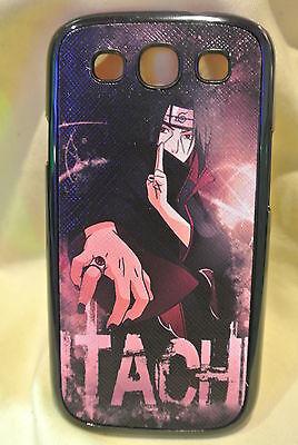 USA Seller Samsung Galaxy S3 III  Anime Phone case Cool Naruto Itachi Uchiha