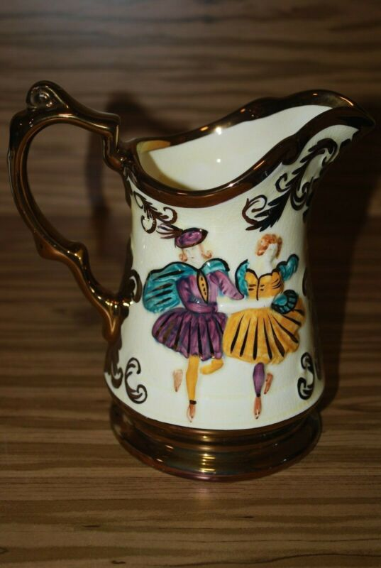 "Vintage Wade ""Festival"" Small Pitcher"