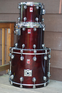 Premier Genista Drum Shells | Made In England 1990's
