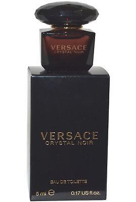 Versace Crystal Noir EDT Eau de Toilette Mini 5ml Fragrance