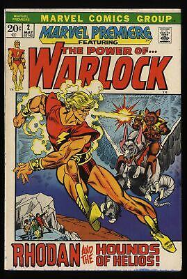 Marvel Premiere #2 FN+ 6.5 Comics