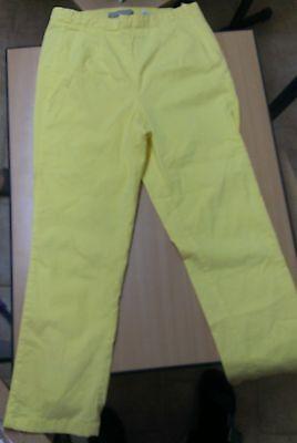 gelbe dreiviertel Sommer Hose, enge Beine, Größe 38, Firma Dream STAR - Drei Viertel Bein
