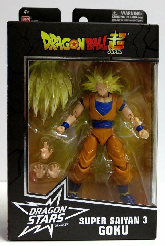 In STOCK Bandai Dragon Ball Stars Super Super Saiyan 3 Goku Action Figure
