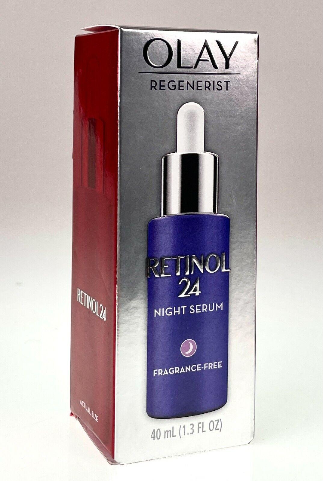 Olay Regenerist Retinol 24 Night Facial Serum Fragrance Free