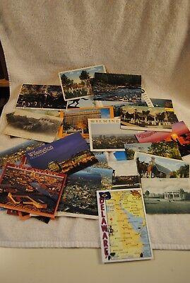 Lot of OVER 50 VINTAGE Delaware Postcards Brandywine  Dover Wilmington DuPont
