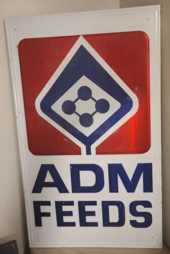 Large ADM Feeds Metal Sign