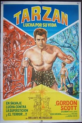 Tarzan's Fight for Life, Gordon Scott, Eve Brent,1958, #10386