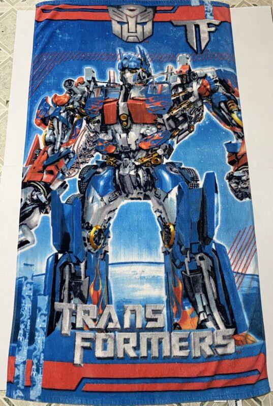 2008 Hasbro Transformers Movie Optimus Prime Beach Towel