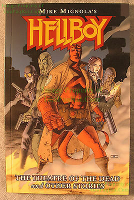 HELLBOY Theatre of the Dead & Other Stories Mini TPB Comic VHTF UNREAD Copy