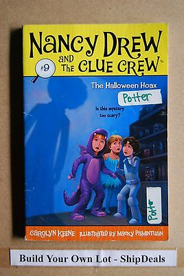 Carolyn Keene's Nancy Drew And The Clue Crew #9 The Halloween Hoax ShipDeals  (Halloween Nancy Drew)