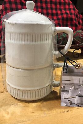 Hearth & Hand With Magnolia Coffee Pot Stoneware Set