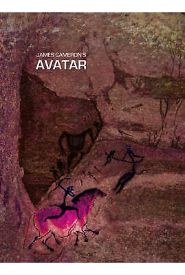 Avatar Fantasy Science Fiction Movie Poster Print T448 |A4 A3 A2 A1 A0| ()