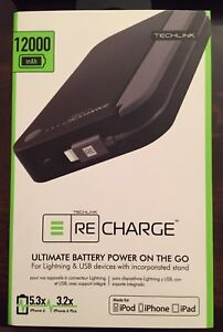 Portable battery/charger for iPhone/iPad