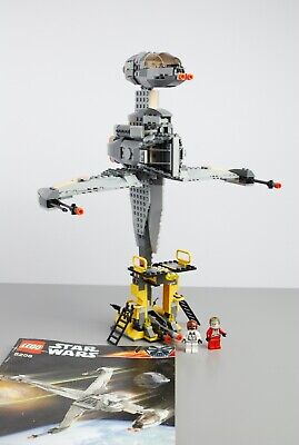 LEGO 6208 STAR WARS B-WING  **100% COMPLETE WITH INSTRUCTIONS**