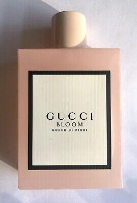 Gucci Bloom Gocce Di Fiori Eau De Toilette Perfume 100ml New (No Box)