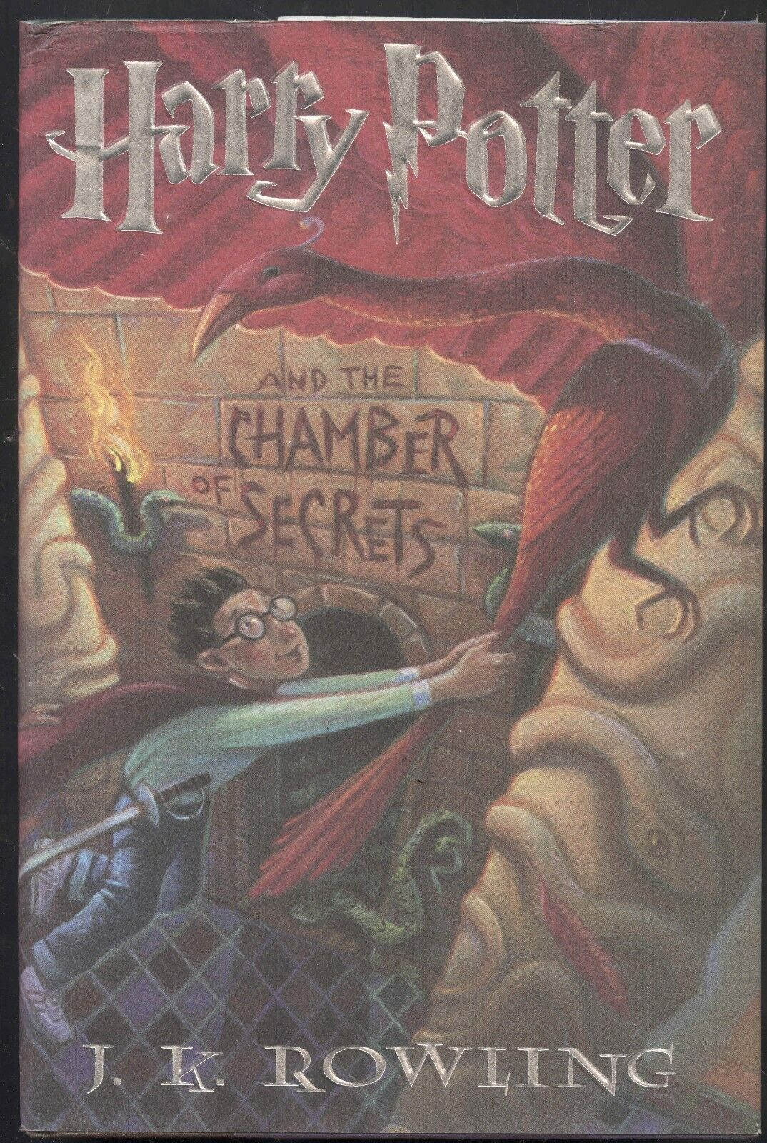 Harry Potter and the Chamber of Secrets by J.K. Rowling 1999, Hardcover with DJ
