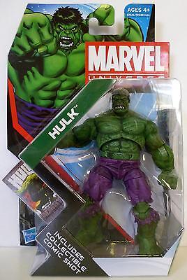 "HULK Marvel Universe 4"" inch Action Figure #9 Series 4 2012"