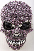 Purple Crystal Skull