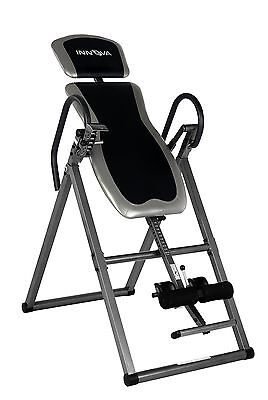 Inversion Therapy Table Back Pain 300 Lb Capacity Locking Inverter Machine, NEW