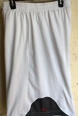 ee0cefa00324e3 AIR Jordan Jumpman Basketball Training Shorts ~ White ~ Size  Men s 2XL.