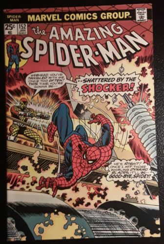 AMAZING SPIDER-MAN #152 NM-/NM! OW/WH pgs, ORIGINAL OWNER! GORGEOUS!