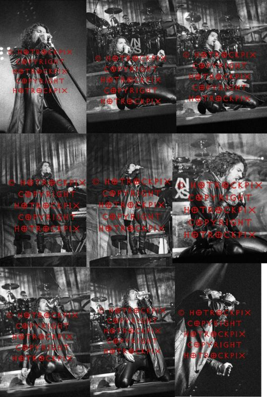 16 DIFFERENT 4X6 PHOTOS OF MICHAEL HUTCHENCE OF INXS IN CONCERT SET#3