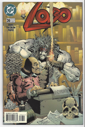 LOBO #36 (1993 ONGOING SERIES)  NM/MINT 9.8 :SEND THIS BOOK TO CGC! HARD TO FIND