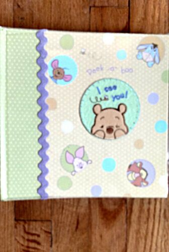Winnie the Pooh baby photo album, new