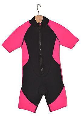 Tauchanzug Wassersportanzug Shorty Kinder Mädchen 110-128 NEU & OVP