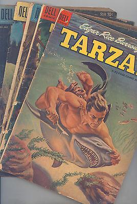 Tarzan Set of 13 (#56, 61, 90, 94,121,146,156,157,159,160,163,164, 177) VG Marsh